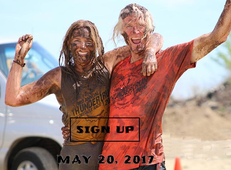 Thunder Run Mud Run Obstacle Course Race